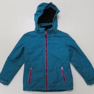 Killtec Ski Jacket Level 3 Sz 8 Girls Hood